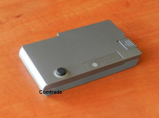 Bateria do Dell D500, D510, D600 D610 - Comtrade