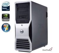 DELL Precision T7400 Xeon X5260 3,33 GHz / 8 GB / 250 GB / DVD / Win7 Prof.