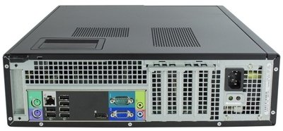 DELL Optiplex 790 Desktop Core i3 2100 3,1 GHz / 4 GB / 120 SSD / DVD / Win7 Prof.