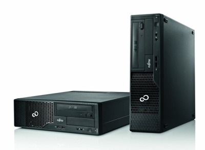 Fujitsu E500 Core i3 2100, 3,1 GHz / 4 GB / 120 GB (SSD) / DVD / Windows 7 Prof.