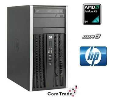 HP Compaq 6005 Tower ATHLON X2 B22 2,8 / 4 GB / 250 GB / DVD / Win7 Prof.