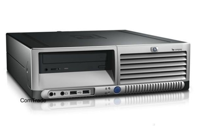 HP DC7700 Core 2 Duo 1.86 GHz / 2 GB / 80 GB / DVD / WinXP