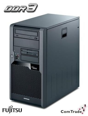 Siemens P5731 Core 2 Duo 3,16 GHz / 3 GB / 250 GB / DVD / Win 7 Prof.