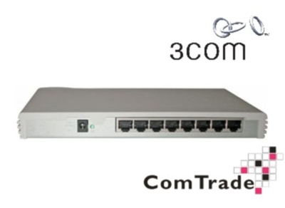 Switch 3com OfficeConnect Switch 8  8x10/100Mb ( 3C16791B)