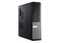 DELL Optiplex 7010 Desktop Core i5 3470 3,2 GHz / 4 GB / 120 GB SSD / DVD / Win7 Prof.