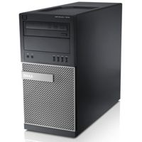 DELL Optiplex 7010 Tower, Core i5 3470 3,2 GHz / 4 GB / 240 GB SSD + 500 GB HDD  / DVD / Win10 Prof.