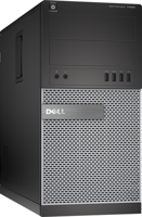 DELL Optiplex 7020 Tower Core i5 4570 3,2 GHz / 8 GB / 240 SSD / DVD / Win7