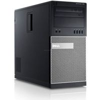 DELL Optiplex 790 Tower, Core i5 2400 3,1 GHz / 8 GB / 500 GB / DVD / Win7 Prof. + GeForce GTX1050