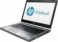HP 8470p Core i5 3320M 2,6 GHz (3-gen) / 4 GB / 240 SSD / DVD / 14'' / Win 7 Prof., kamerka