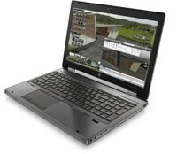 HP 8570W Core i7 3720QM 2,6 GHz (4-rdzenie) / 8 GB / 240 SSD / DVD-RW / 15,6'' / Win 7 Prof. + nVidia Quadro K1000 2GB