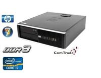 HP Compaq 6200 ELITE Pentium G630 2.7 GHz / 4 GB / 120 GB SSD / DVD / Win7 Prof.