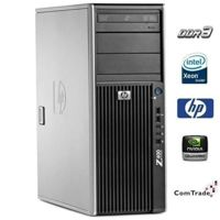 HP Workstation Z400 Xeon W3520 (i7) 2.66 GHz (4 rdzenie)  / 8 GB / 250 GB / DVD-RW / Windows 7 Prof. + Quadro FX 1800