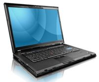 "IBM/Lenovo T500 Core 2 Duo 2.53 / 4 GB / 120 GB SSD / DVD / 15,4"" / Win 7"