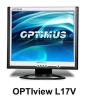 Monitor LCD Optimus Optiview L17V, 17 cali