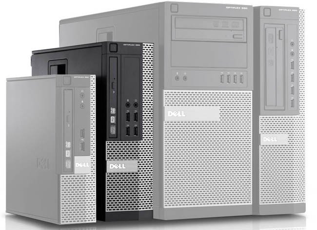 DELL Optiplex 390 SFF Intel G630 2,7 GHz / 4 GB / 250 GB / DVD / Windows 10