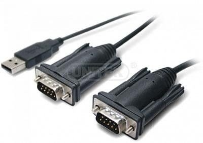 Adapter Unitek USB do 2 x RS-232 (COM)
