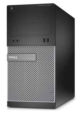 DELL Optiplex 3020 Tower Core i5 4570 (4-gen) 3,2 GHz / 8 GB / 240 GB SSD / DVD / Win7 Prof.
