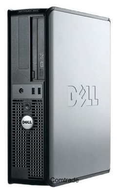 DELL Optiplex 755 SFF DualCore 2,2 GHz / 2 GB / 80 GB / DVD / WinXP