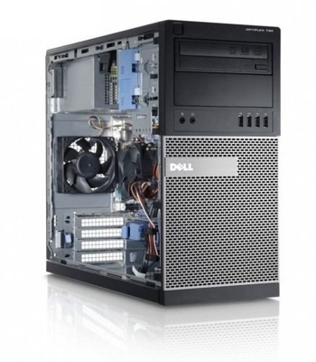 DELL Optiplex 790 Tower, Core i3 2100 3,1 GHz / 8 GB / 320 GB / DVD-RW / Win7 Prof.