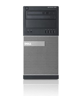 DELL Optiplex 790 Tower, Core i5 2400 3,1 GHz / 4 GB / 120 SSD / DVD / Win7 Prof.