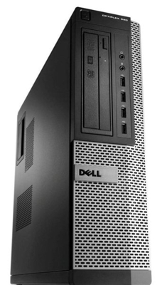 DELL Optiplex 990 Desktop Core i5 2400 3,1 GHz / 4 GB / 250 GB/ DVD-RW / Win7 Prof.