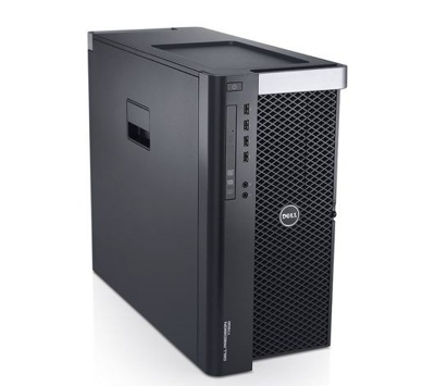 DELL Precision T3610 Tower Xeon Quad Core E5-1650 v2 3,5 GHz (6-rdzeni) / 16 GB / 480 SSD + 1 TB / DVD-RW / Win 10 Prof. (Update) + GTX 1070 8GB