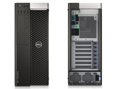 DELL Precision T3610 Xeon Quad Core E5-1650 v2 3,5 GHz (6-rdzeni) / 16 GB / 480 SSD + 1 TB / DVD-RW / Win 7 Prof. + GTX 1070 8GB