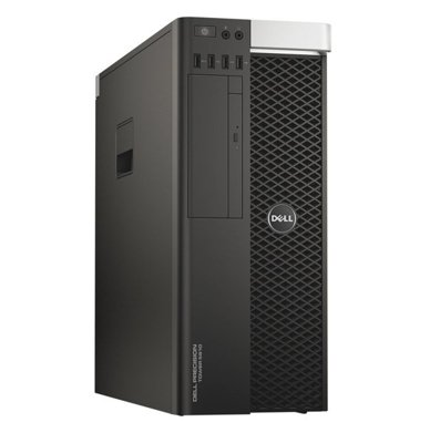 DELL Precision T5810 Tower Xeon E5-1650 v3 3,5 GHz / 16 GB / 480 SSD + 500 GB  / DVD-RW / Win 10 Prof. (Update) + GTX 1070 8GB