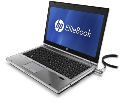 HP 2560p Core i5 2520M 2.5 GHz  / 4 GB / 320 GB/ 12,5'' / Win 7 + Kamera