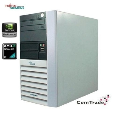 Siemens ESPRIMO P5615 ATHLON X2 4000+ / 4 GB / 160 GB / DVD-RW / WinXP + GeForce 256 MB