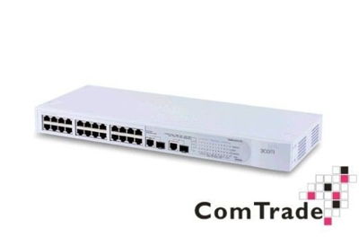 Switch 3Com Baseline Switch 2226 Plus 24x10/100/Mb 2x10/100/1000Mb