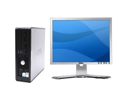 Zestaw Dell Optiplex 745  P4 3.2 HT / 2 GB / 80 / DVD / WinXP + LCD Dell 1908FP